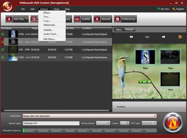 creazione e assemblaggio video su Dvd