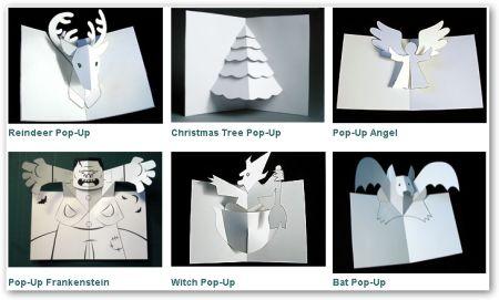 Creare Biglietti di Carta Tridimensionali