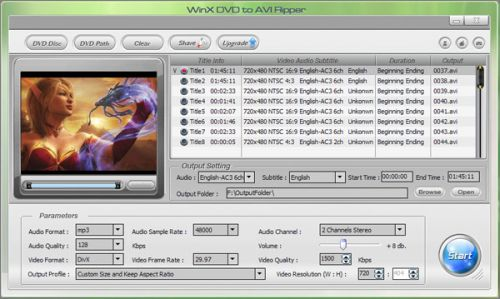 Convertitore Freeware Video in Divx