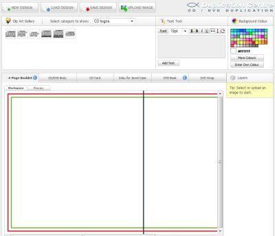 Creare Online Copertine per Cd e Dvd