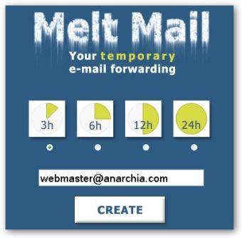 Foward Email Temporaneo AntiSpam
