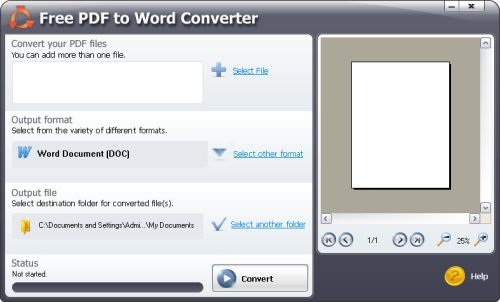 Conversione Documenti Pdf in Word