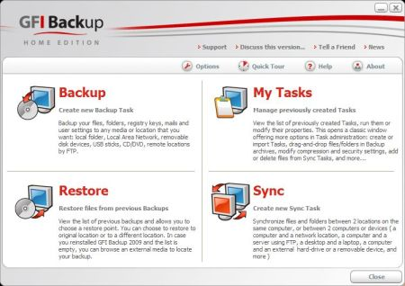 Backup Gratuito e Potente