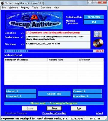 Antivirus AntiMalware Gratis Gucup