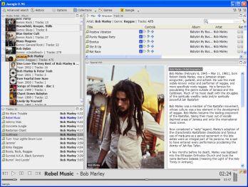 Player ed Archivio in Italiano per musica Mp3