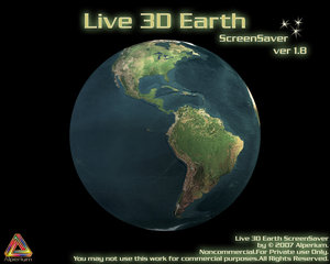 Screensaver 3D Gratis Globo Terrestre