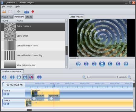 Programma Gratis Montaggio Video Linux