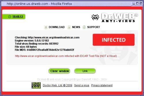Controllo Link con Antivirus prima di scaricare