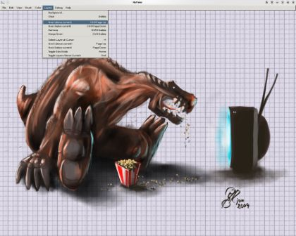 Freeware Grafica Windows Linux Macintosh Mypaint