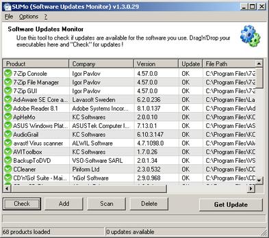 Programma per Aggiornare Automaticamente Software Installato