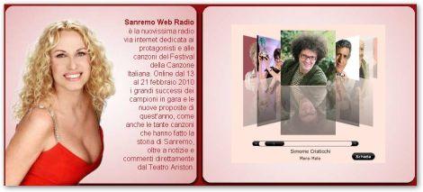 Ascoltare Canzoni di Sna Remo 2010