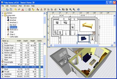 Programma gratis per arredare casa for Crea casa 3d