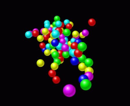 Screensaver Tridimensionale Atomic