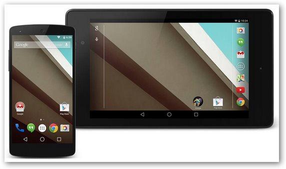 Nuove funzioni android 5 lollipop - Rubrica android colori diversi ...