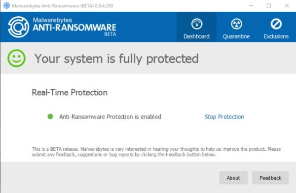 Anti-ransomware gratuito software