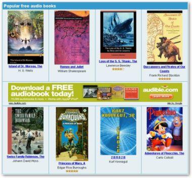 Audio Libri da scaricare gratuitamente