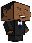 Barack Obama Pupazzo