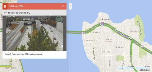 traffico webcam bing maps