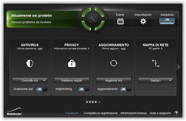 Antivirus in italiano Bitdefender
