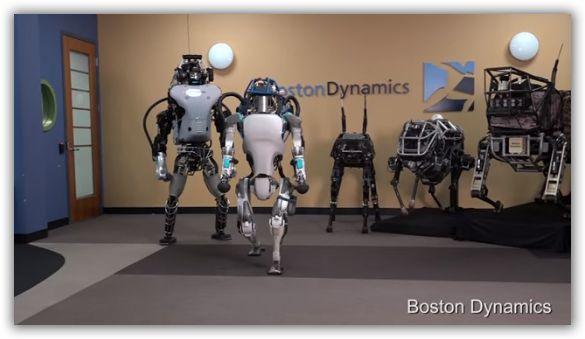 video robot umanoide