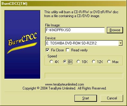 Masterizzare File ISO