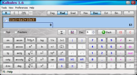 calcolatrice per windows