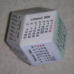 Calendario in Italiano da Stampare
