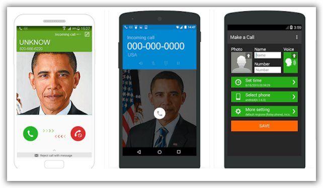 farsi chiamare telefonate false android