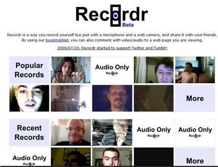 Come registrare dalla webcam servizio gratis