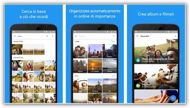 condividere album di foto con google photo