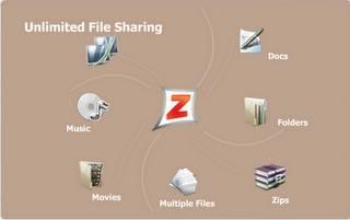 Zapr condividere file e documenti con amici attraverso Internet