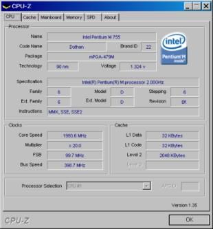 Programma Analisi Hardware Cpu
