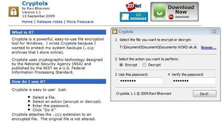 Criptare Facilmente File