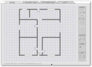 disegnare piantina di casa