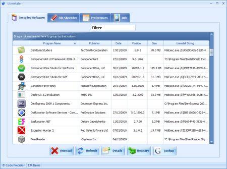 Disinstallare programmi con freeware esterno