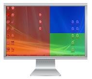 Programma per dividere schermo monitor