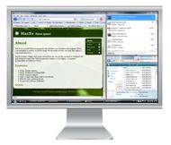 Dividere schermo monitor in pi� parti