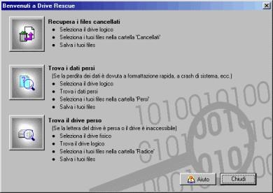 Recupero Dati Gratis Programma Italiano