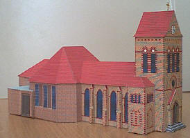Edifici di carta da costruire terminali antivento per for Modelli di case da costruire