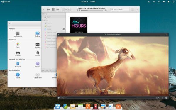 linux leggero e bello elementary OS