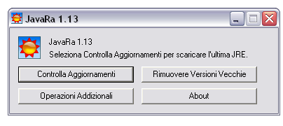 Pulire Windows dal vecchio Java