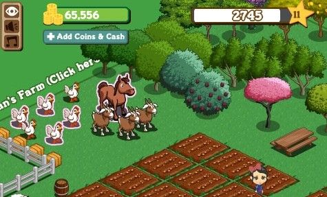 Farmville browser game online