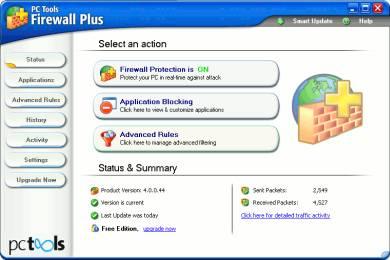 Scaricare un buon Firewall Gratis Pc Tools