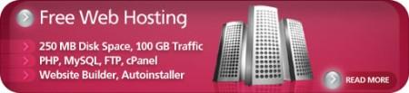 Hosting Gratuito Web Hoster Free