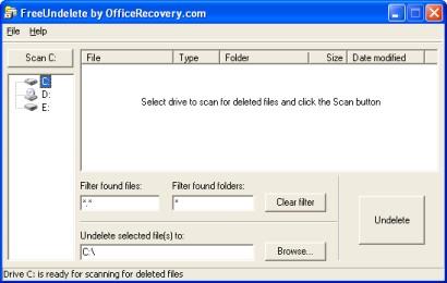 Cancellazione e Recupero File con FreeUndelete