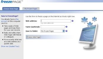 Memorizzare Pagina Web