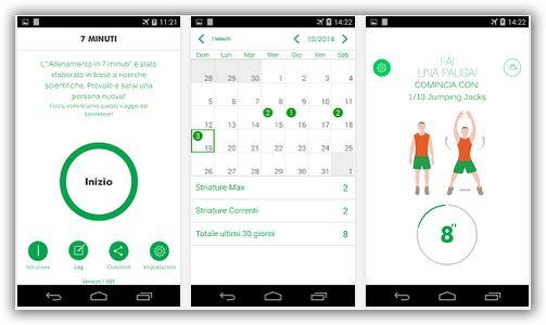 ginnastica con il telefonino android o iphone
