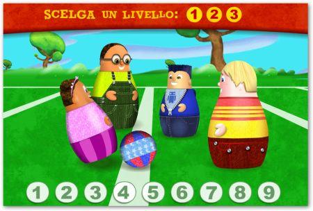 Gioco con numeri per bambini interattivo