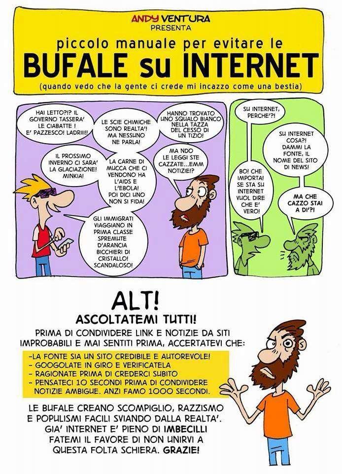 guida alle bufale su Internet