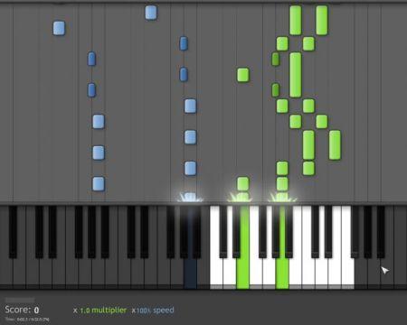 Imparare a suonare il piano con un Pc